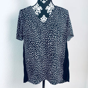 MK Michael Kors Women's size M spotted blouse
